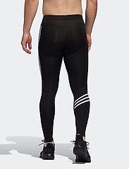 adidas Performance - Run It 3-Stripes Tights - løbe- og træningstights - black/white - 5