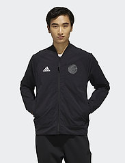 adidas Performance - V BOMBER M - track jackets - black - 0