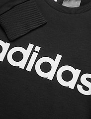 adidas Performance - YG E Lin Sweat - sweatshirts - black/white - 2