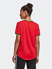 adidas Performance - Belgium 2020 Home Jersey W - football shirts - colred - 5