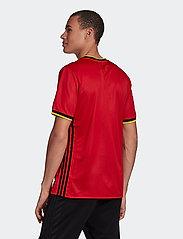 adidas Performance - Belgium 2020 Home Jersey - football shirts - colred - 5