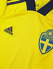 adidas Performance - Sweden 20/21 Home Jersey - voetbalshirts - yellow/nindig - 2