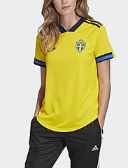 adidas Performance - Sweden 20/21 Home Jersey W - football shirts - yellow/nindig - 0