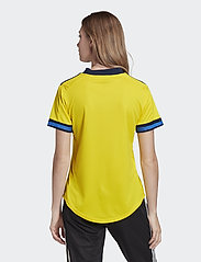 adidas Performance - Sweden 20/21 Home Jersey W - football shirts - yellow/nindig - 3