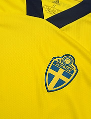 adidas Performance - Sweden 20/21 Home Jersey W - football shirts - yellow/nindig - 4