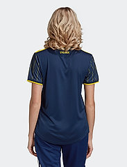 adidas Performance - Sweden 20/21 Away Jersey W - voetbalshirts - nindig/yellow - 4
