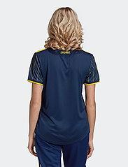 adidas Performance - Sweden 20/21 Away Jersey W - football shirts - nindig/yellow - 4