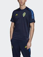 adidas Performance - Sweden 20/21 Training Jersey - voetbalshirts - nindig - 0