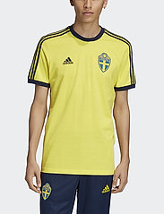 adidas Performance - Sweden 3-Stripes T-Shirt - t-shirts - shoyel - 0