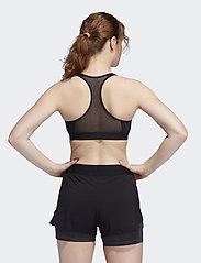 adidas Performance - DRST ASK BRA - sport bras: medium - black - 3