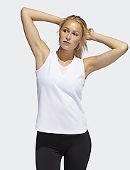 adidas Performance - TRG TNK H.RDY - tank tops - white - 0