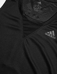 adidas Performance - TRG TNK H.RDY - tank tops - black - 5