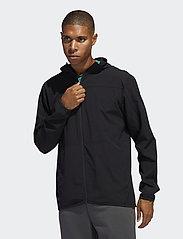 adidas Performance - CITY WV F/Z HD - sweats basiques - black - 0