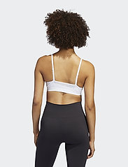 adidas Performance - All Me 3-Stripes Light Support Bra W - sportbeh''s: low - white/black - 5