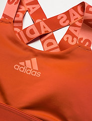 adidas Performance - DRST BRND B - sport bras: medium - gloamb - 2