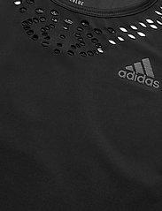 adidas Performance - P.BLUE TANK W - podkoszulki bez rękawów - black - 4