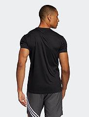 adidas Performance - Run It T-Shirt - sportoberteile - black - 3