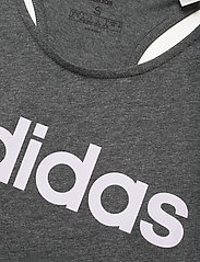 adidas Performance - W E LIN LOOS TK - podkoszulki bez rękawów - dgreyh/prptnt - 4