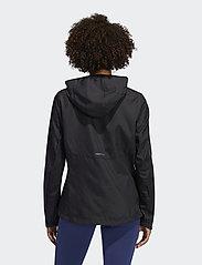 adidas Performance - Own the Run Hooded Wind Jacket W - treenitakit - black - 3