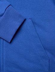 adidas Performance - YB MH 3S FZ - kapuzenpullover - blue/white - 5