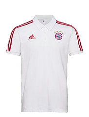 Bayern Munich Polo - WHITE/FCBTRU