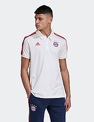 adidas Performance - Bayern Munich Polo - paidat - white/fcbtru - 0