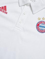 adidas Performance - Bayern Munich Polo - paidat - white/fcbtru - 4