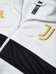 adidas Performance - JUVE 3S TRK TOP - sweatshirts - white/black/pyrite - 2