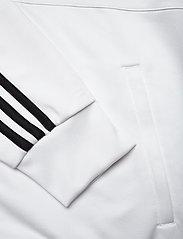 adidas Performance - JUVE 3S TRK TOP - sweatshirts - white/black/pyrite - 3