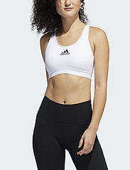 adidas Performance - DRST ASK BRA - sport bras: medium - white - 0
