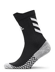 Alphaskin Traxion Crew Socks - BLACK/WHITE/WHITE