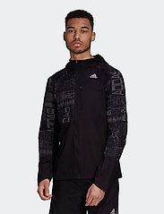 adidas Performance - OWN THE RUN JKT - sportjacken - black/refsil - 0