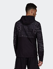 adidas Performance - OWN THE RUN JKT - sportjacken - black/refsil - 3