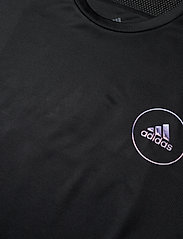 adidas Performance - OWN THE RUN TEE - sportoberteile - black - 2