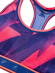 adidas Performance - DRST ASK Q1 BRA - sport bras: medium - sigpnk/royblu - 5