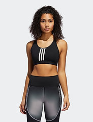adidas Performance - DRST ASK P 3S - sport bras: medium - black/white - 0