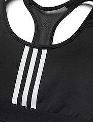 adidas Performance - DRST ASK P 3S - sport bras: medium - black/white - 4