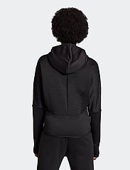 adidas Performance - W ZNE A H C.RDY - hoodies - black - 3