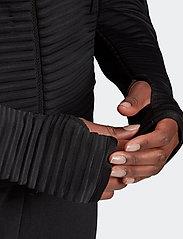 adidas Performance - W ZNE A H C.RDY - hoodies - black - 4