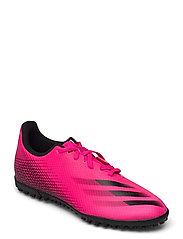 X Ghosted.4 Turf Boots - SHOPNK/CBLACK/CBLACK