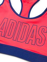 adidas Performance - DRST ASK SP BRN - sport bras: medium - sigpnk/royblu - 4