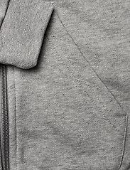 adidas Performance - YG E LIN FZ HD - kapuzenpullover - mgreyh/sigpnk - 4