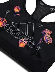 adidas Performance - Floral Bra W - sort bras:high - black - 2