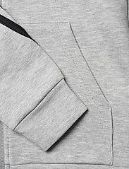 adidas Performance - B 3S FZ - kapuzenpullover - mgreyh/black - 3
