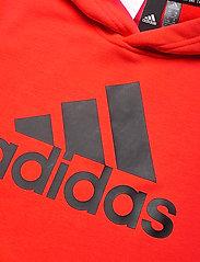 adidas Performance - YB MH BOS PO - kapuzenpullover - hirere/black - 2