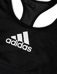 adidas Performance - DRST ASK BRA - sport bras: medium - black - 4