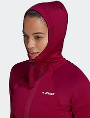 adidas Performance - Terrex Tech Fleece Hooded Jacket W - fleece - powber - 5