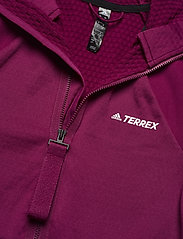 adidas Performance - Terrex Tech Fleece Hooded Jacket W - fleece - powber - 6