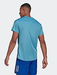 adidas Performance - Own The Run T-Shirt - sportoberteile - hazblu - 3