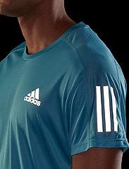 adidas Performance - Own The Run T-Shirt - sportoberteile - hazblu - 4